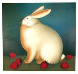 Rabbit with Strawberries