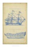 Vintage Ship Blueprint