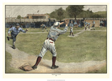 Thrown out on 2nd 1887