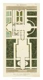 Plan de la Villa Bolognetti