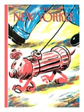 The New Yorker Cover - April 9  2001