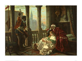 Othello Tells Desdemona and Her Father of his Adventures