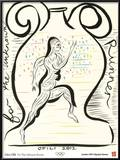 2012 Olympics-Chris Ofili-For the Unknown Runner