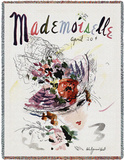 Mademoiselle April 1936 - Throw Blanket