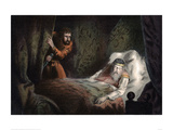 MacBeth About to Murder the Sleeping Duncan