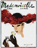 Mademoiselle October 1935 - Throw Blanket