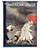 American Golfer Sept 1929 - Wall Tapestry