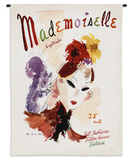 Mademoiselle September 1936 - Wall Tapestry