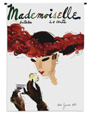 Mademoiselle October 1935 - Wall Tapestry
