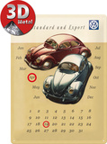 VW Käfer Duo Kalender
