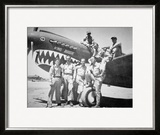 Pilots of the American Volunteer Group  or the 'Flying Tigers' in China  1941- 42
