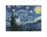 Nuit étoilée sur le Rhône,1888 Reproduction d'art par Vincent Van Gogh