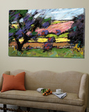 Pastel Landscape I