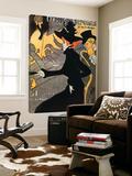 Le Divan Japonnais Toile Murale Géante par Henri De Toulouse-Lautrec