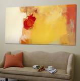 Red Note Toile Murale Géante par Diane Lambin