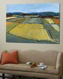 Pastel Landscape IX