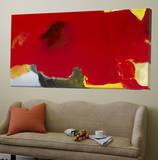 Red Coquelicot Toile Murale Géante par Diane Lambin