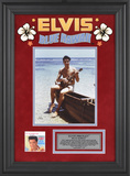 "Elvis Presley""Blue Hawaii"" framed presentation"