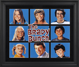The Brady Bunch limited edition framed presentation