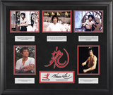 Bruce Lee &quot;The Wisdom of Bruce Lee&quot; limited edition framed presentation with laser-cut logo