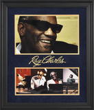 Ray Charles Limited Edition Framed Presentation