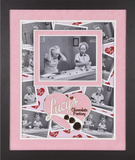 "I Love Lucy ""Chocolate Factory"" framed presentation"