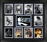 "Elvis Presley ""75th Birthday"" framed presentation"