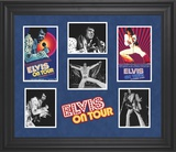 Elvis Presley &quot;Elvis On Tour&quot; limited edition framed presentation