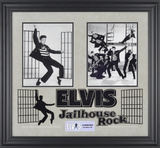 "Elvis Presley ""Jailhouse Rock"" framed presentation"