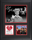 I Love Lucy &quot;60th Anniversary&quot; framed presentation