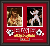 "Elvis Presley ""Aloha From Hawaii"" framed presentation"