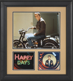 "Happy Days ""Fonzie"" 15x17 framed presentation"