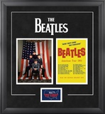"The Beatles ""1964 USTour"" framed presentation"