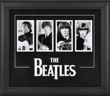 The Beatles four-photo framed presentation