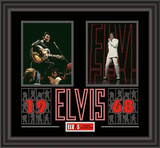 Elvis Presley &quot;1968&quot; framed presentation