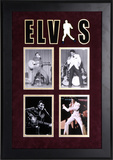 Elvis Presley framed photo presentation