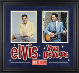 Elvis Presley &quot;Viva Las Vegas&quot; framed presentation