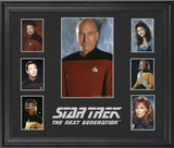 Star Trek: The Next Generation limited edition framed presentation