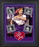 "I Love Lucy ""Grape Stomping"" framed presentation"