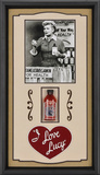 I Love Lucy &quot;Vitameatavegamin&quot; framed presentation