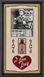"I Love Lucy ""Vitameatavegamin"" framed presentation"