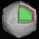 Three-Dimensional Reconstruction Calculated from Individual Images of the Chilo Iridescent Virus