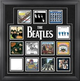 The Beatles &quot;UK Album Covers&quot; framed presentation