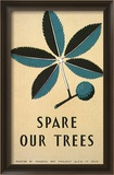 Spare Our Trees  WPA  c1938