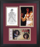 "Elvis Presley ""Aloha From Hawaii"" 35th Anniversary framed presentation"