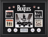 The Beatles On The Ed Sullivan Show framed presentation