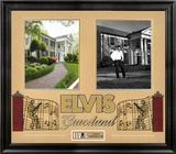 "Elvis Presley ""Graceland"" framed presentation"