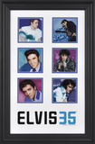 Elvis Presley 35th Anniversary framed presentation