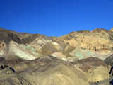 Mineral Deposits Create Many Colors at the Artist&#39;s Palate  Death Valley National Park  California