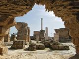 Antonine Roman Thermal Baths  Carthage  Tunisia